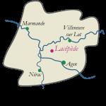 Carte du Lot-et-Garonne