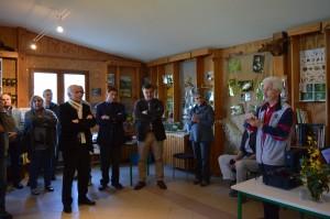 Presentation a la Maison de la nature