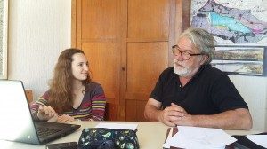 Amélie Brun et Jean-Luc Schwaller