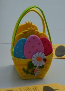 Un panier d'œufs