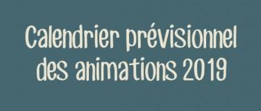 Calendrier prévisionnel 2019