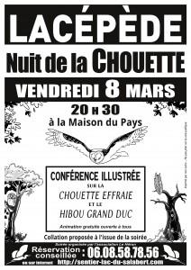 Affiche Nuit de la Chouette 2019