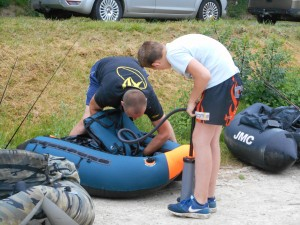 Float tube au Salabert (1)